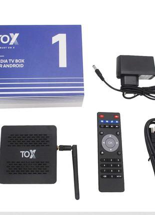 TOX1 4/32 SMART TV BOX Приставка IPTV > Настройка > Гарантия