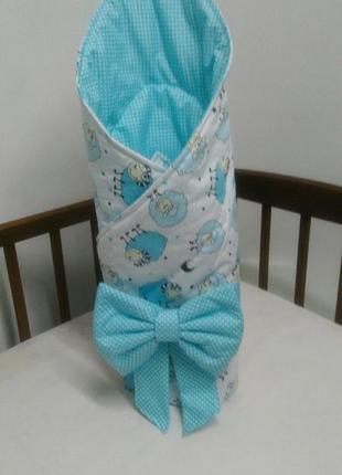 Конверт на выписку новорожденного малыша