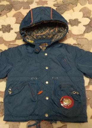 Детская куртка сезон осень- теплая зима