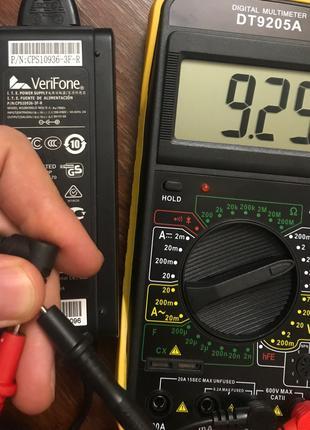 Блок питания VeriFone 9V 4A P/N CPS10936-3S(К)-R оригинал