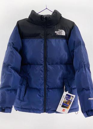 Пуховик the north face 700 / blue
