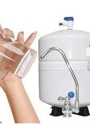 Установка фильтров осмосной очистки воды