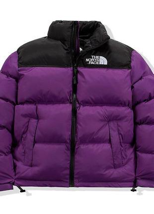 Пуховик фиолет