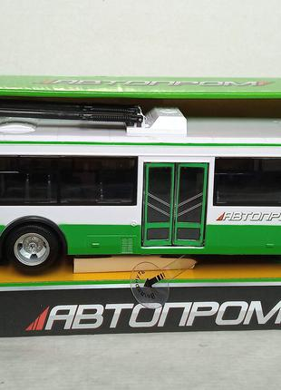 Троллейбус инерц. 9690a батар. , свет, звук.