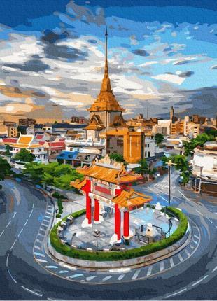 Картина по номерам набор рассвет в бангкоке