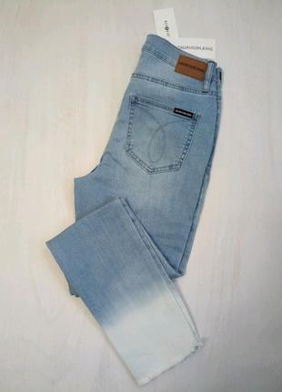 Женские джинсы скини Calvin Klein Jeans