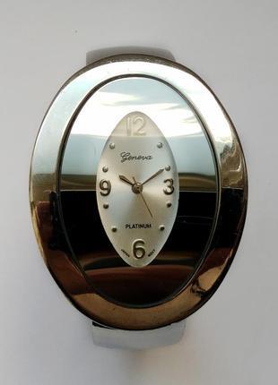 Geneva platinum зеркальные часы браслет из сша мех.japan sii