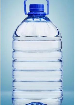 Очищенная вода 40 % в баклажках