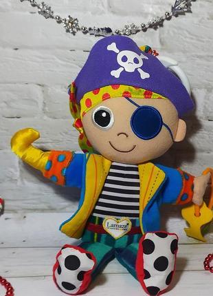 Развивающая игрушка пират пит tomy lamaze погремушка игрушка в...