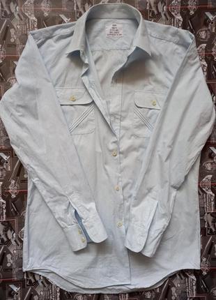 Хлопковая мужская рубашка