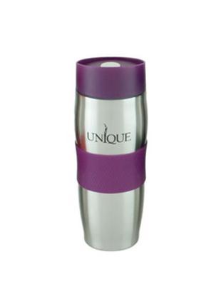 Термокружка UNIQUE UN-1072 0.38 л. Цвет: фиолетовый