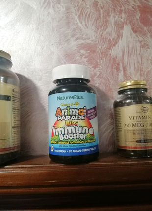 Nature's Plus Source of Life Animal Parade Kids Immune booster