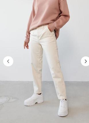 Женские джинсы, джинсы мом, светлые женские джинсы