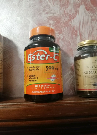 American Health Ester-C 500 mg 120капс Естер С Эстер С аскорбинка