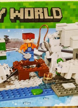 Конструктор 10960 Зимняя рыбалка 215 деталей