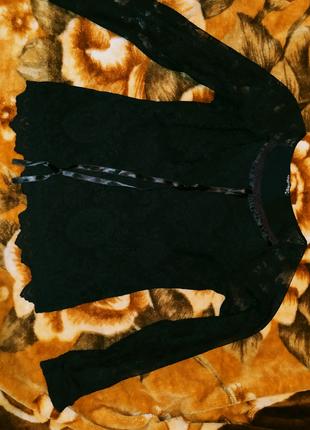 Гипюровая блузка и летняя