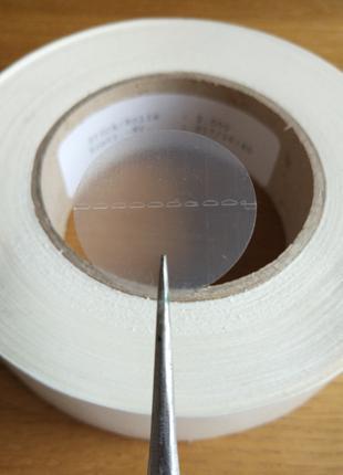 Стикер, прозрачная пломба, антивандальная наклейка