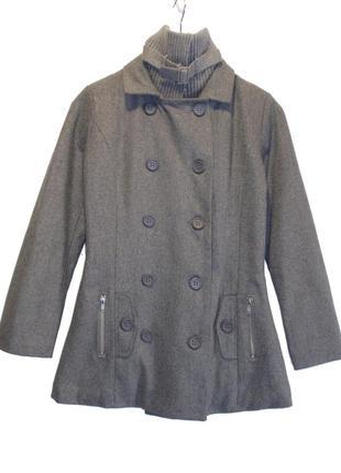 Распродажа. пальто шерстяное утепленное для девочки подростков...