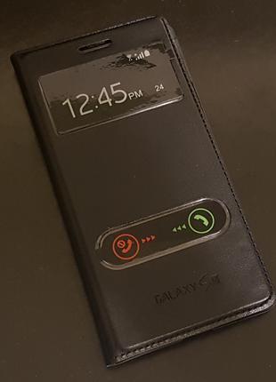 Чехол-Книжка Flip Cover Samsung Galaxy S3 i9300 замена крышки