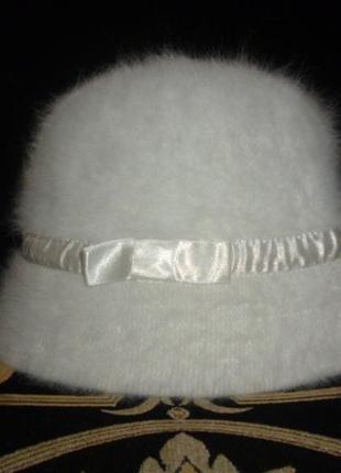 Шапка шляпа панама детская ангора