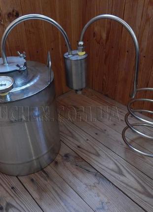 Дистилятор під непроточну воду - Дистиллятор под непроточную воду
