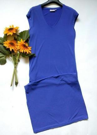 Платье в пол с разрезами по бокам