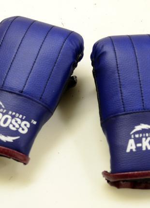 Боксерские перчатки для бокса тренировочные снарядные битки 2 шт