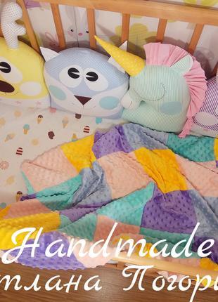 Комплект в кроватку,бортики+ простынь.детское постельное