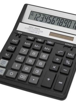 Легендарный калькулятор торговой марки Citizen серии SDC-888