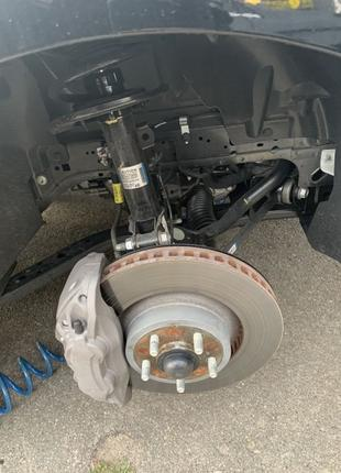 Ford mustang 2.3 ходовая , трансмисия , запчасти , ступица, ДХО