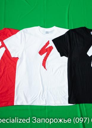 Новая мужская футболка Specialized Logo ( новая )