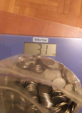 Монети 1.2. Комікси. 3.100 кг