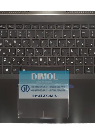 Оригинальная клавиатура для Lenovo Yoga 710-15 series, black, ru