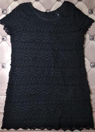 Ажурное платье / нарядное / большой размер