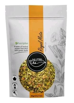 "Чай Nutriplus Nutritea ""Королевский Мате"" Herbal tea mix with Mat"