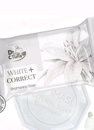 Отбеливающее мыло для лица и тела