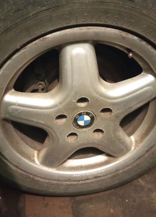 Диски колеса Титани Р17 Резина Bmw e46 e39 e36 e38 4 штуки