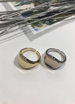 Женские кольца в серебре и золоте