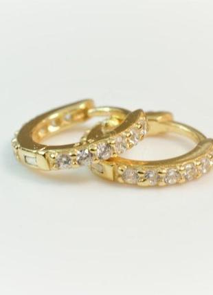 Серебряные колечки - серьги кольца из серебра 925 пробы