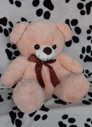 Плед с подушкой медвежонок