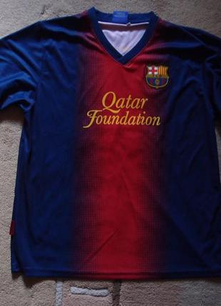 Футболка  fc barcelona  сувенирная