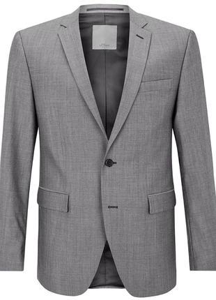 S.Oliver Premium пиджак шерстяной р. US 44L (106EU) высокий рост