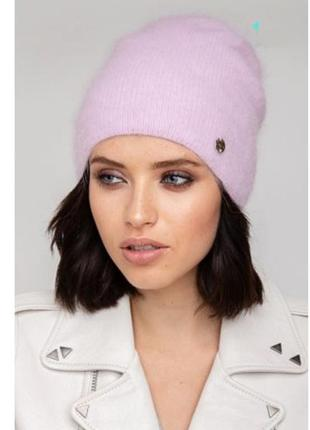 Шапка бини!шапка одиссей!шапка ангоровая!шапка зимова