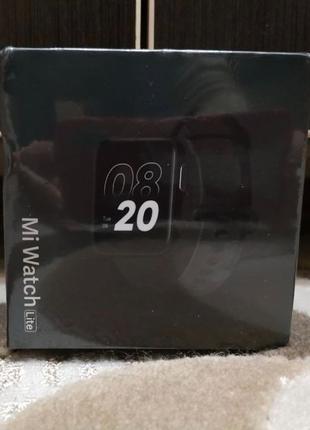 Смарт часы Xiaomi Mi Watch Lite Black! Умные/фитнес/Bluetooth/...