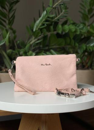 Сумка pierre cardin, розовая