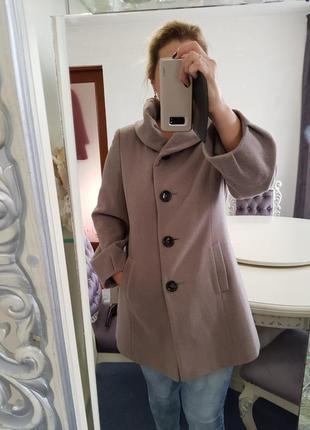 Пальто saint jacques кашемир+ шерсть