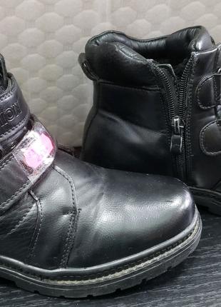 Ботинки утепленные 34 размер