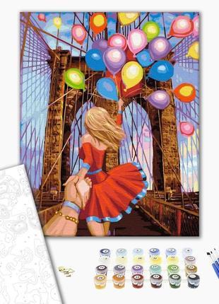 Набор картина по номерам бруклинский мост