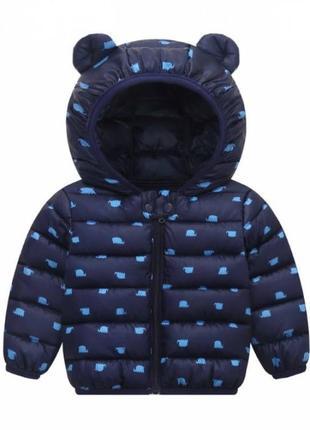 Демисезонная курточка мальчику синяя