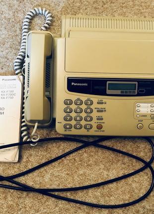 Факс Panasonic KX-F550 ( + факс-бумага)